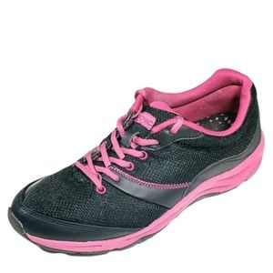 Vionic Women's Wide Black Kona Sneaker Shoes 8.5W